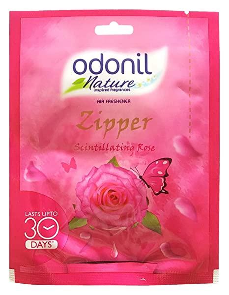 Odonil Air Freshener Zipper - Scintillating Rose