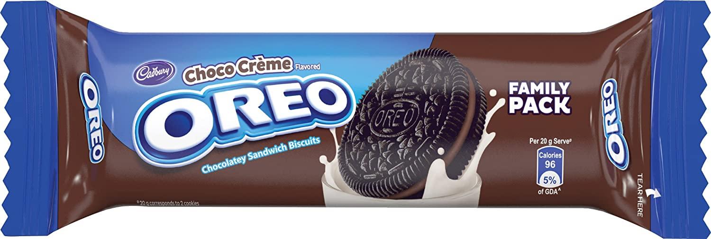 Cadbury Biscuits Chocolate Crème Biscuits.