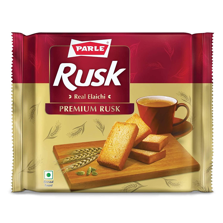 Parle Real Elaichi Premium Rusk.