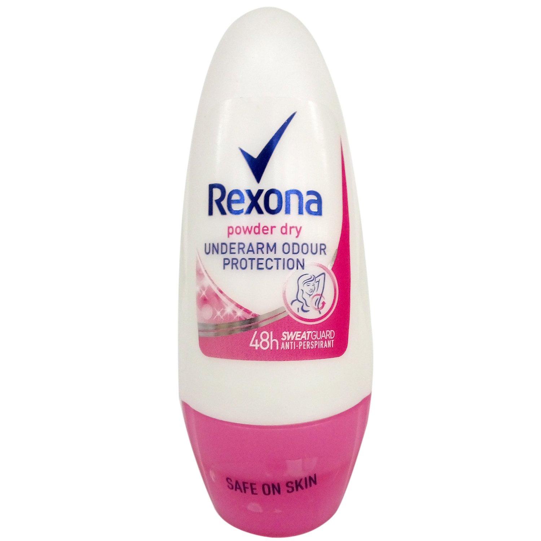 Rexona Powder Dry Underarm Roll On Deodorant For Women