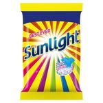 Sunlight With Colour Guard Crystals Detergent Powder.