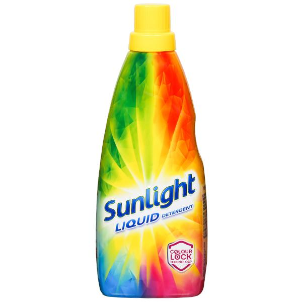 Sunlight Liquid Detergent Colour Lock Technology