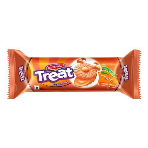 Britannia Treat O'som Orange Cream Biscuit