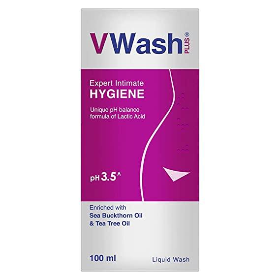 V Wash pH 3.5 + 2 Vwash wow sanitary Pads inside Pack