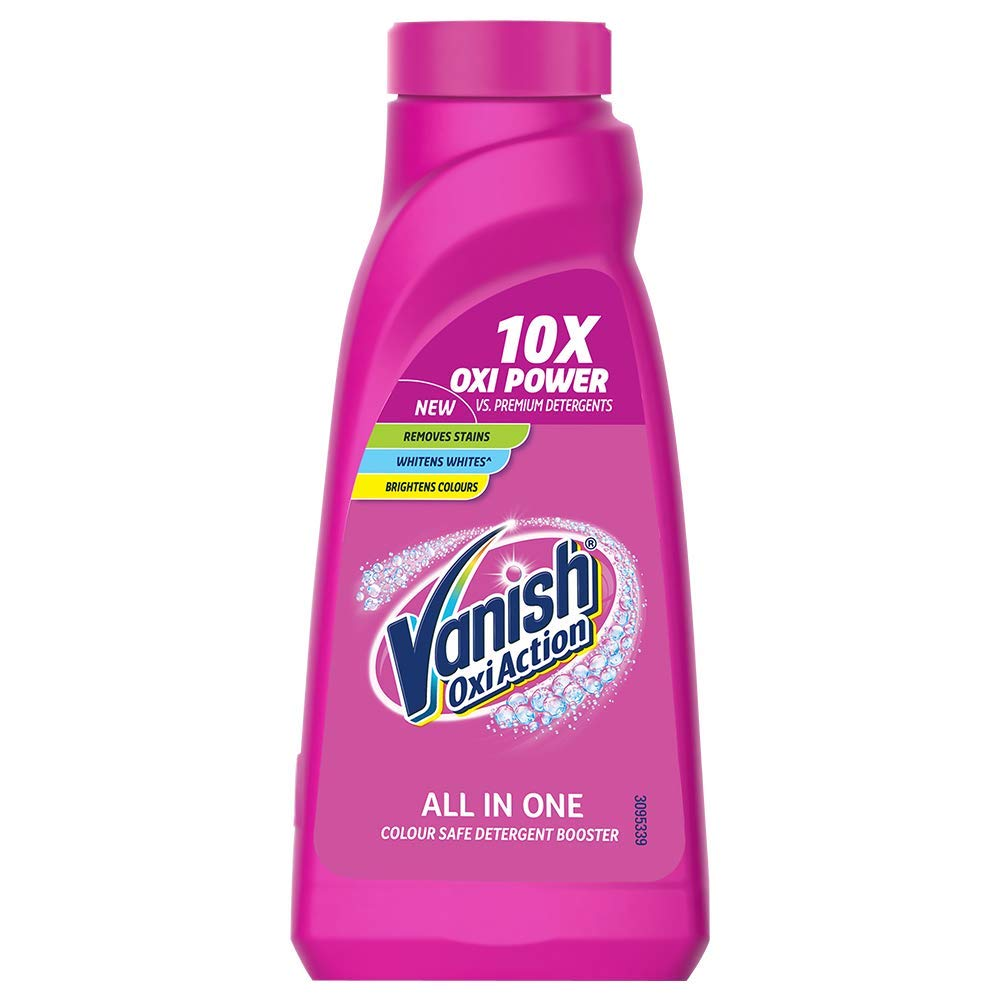 Vanish Oxi Action Stain Remover Liquid.