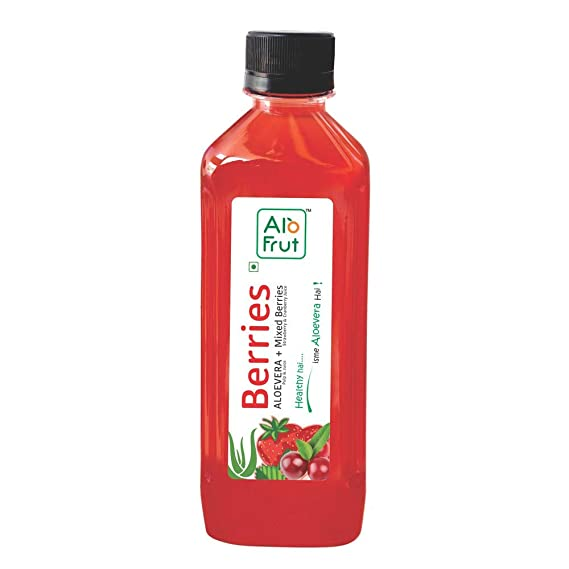 AloFrut Berries Aloevera Juice.