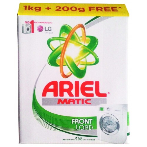 Ariel Matic Front Load 1Kg + 200G