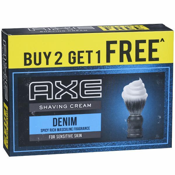 Axe Signature Denim Shaving Cream 78G 2+1