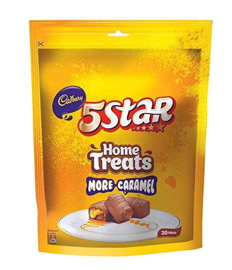 Cadbury 5 Star Chocolate Home Treats Pack.
