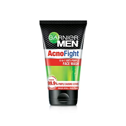 Garnier Men Acno Fight Anti-Pimple Facewash.