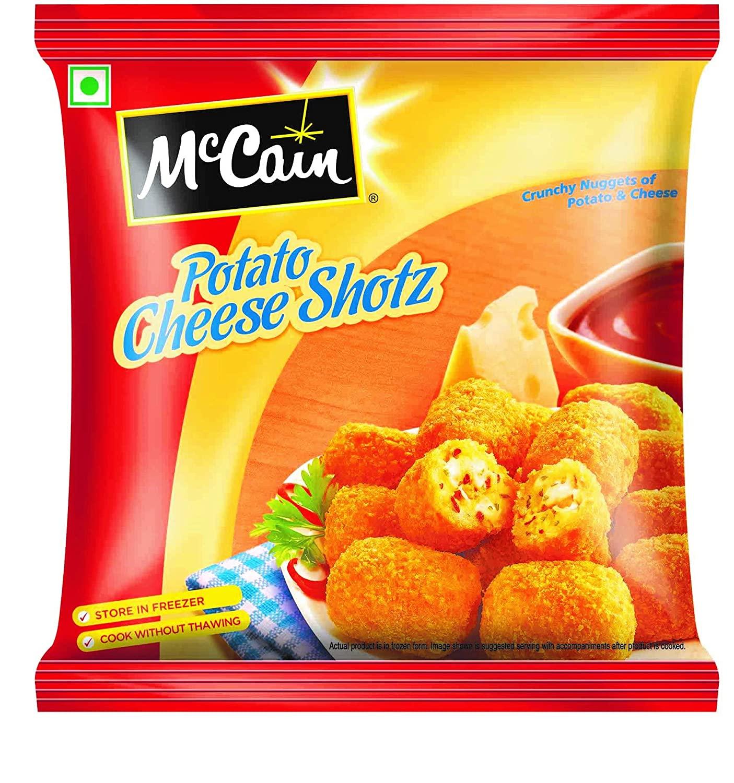 MCCAIN POTATO CHEESE SHOTZ PP