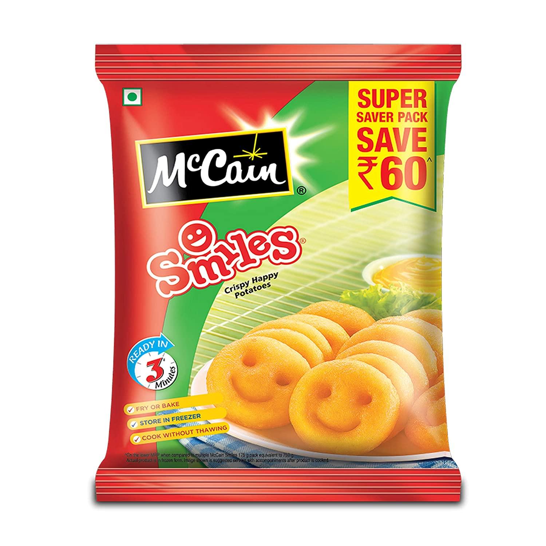 MCCAIN SMILES 1.25 kg PP