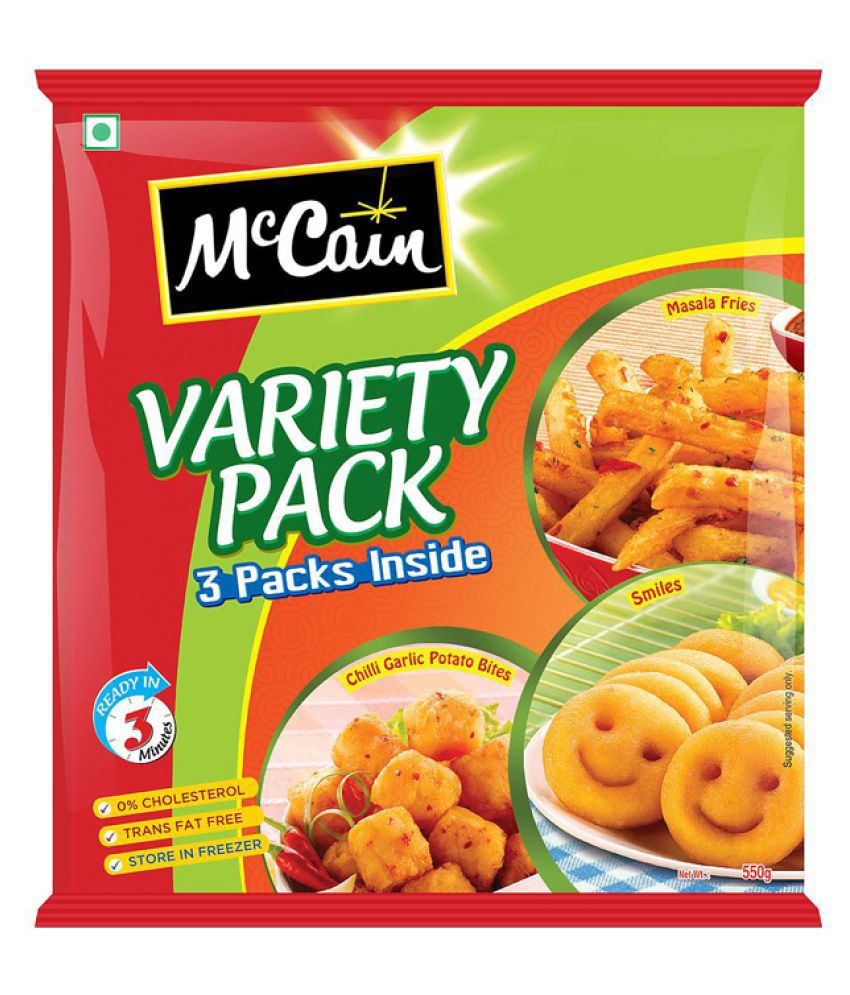 MC CAIN VARIETY PACK CGSMMF PP