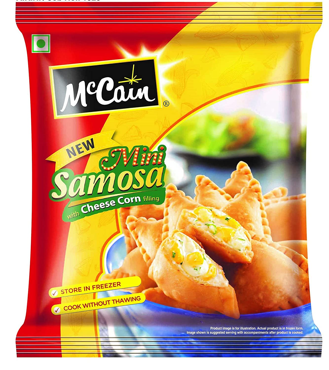 MCCAIN CHEESE CORN SAMOSA 240 g PP