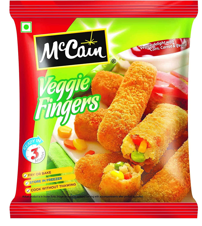 MCCAIN VEGGIE FINGERS PP