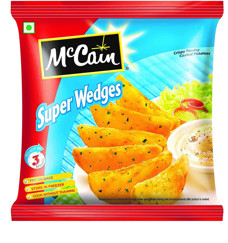 MCCAIN SUPER WEDGES 400 g PP