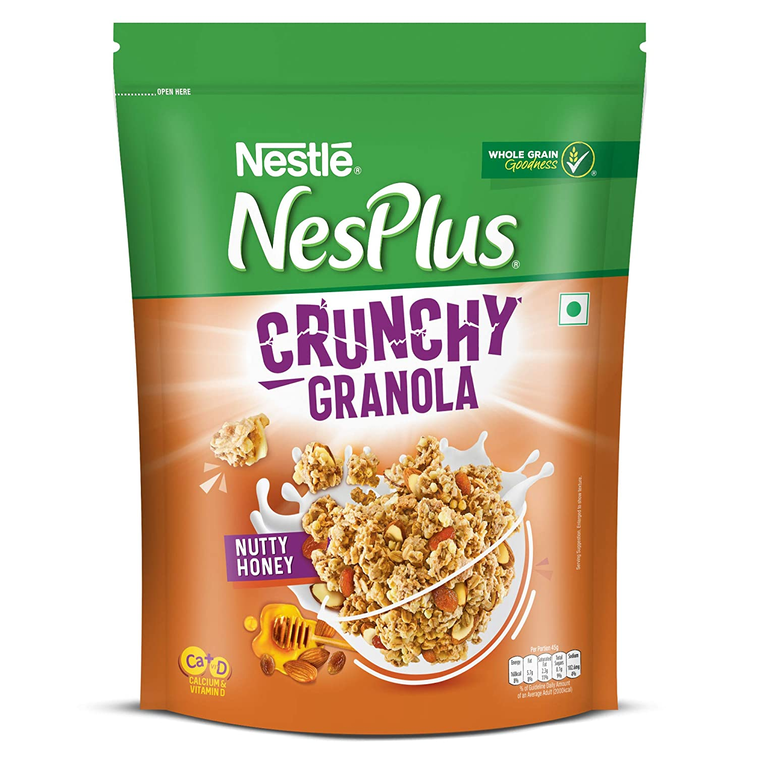 NesPlus Crunchy Granola with Nutty Honey
