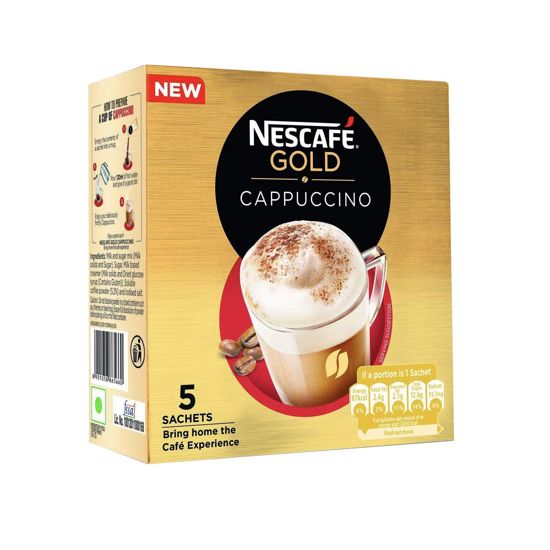 Nescafe Gold Cappuccino 25gm* 5