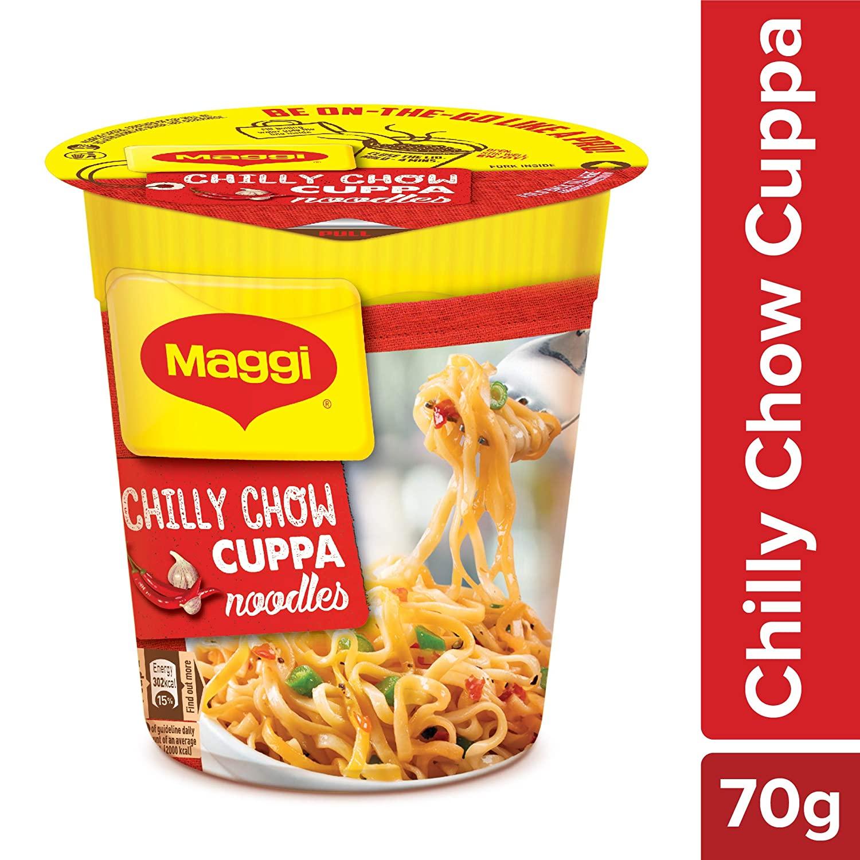 Maggi Cuppa Noodles Chili Chow