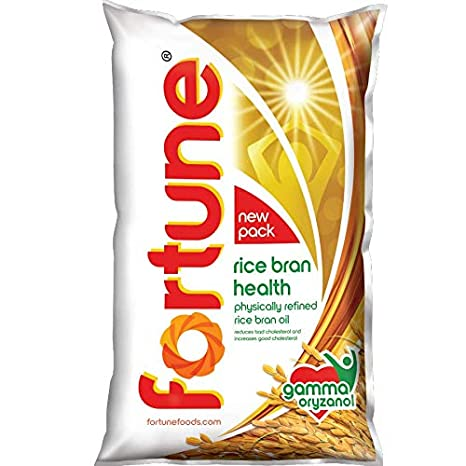 FORTUNE RICE OIL 1LT POUCH