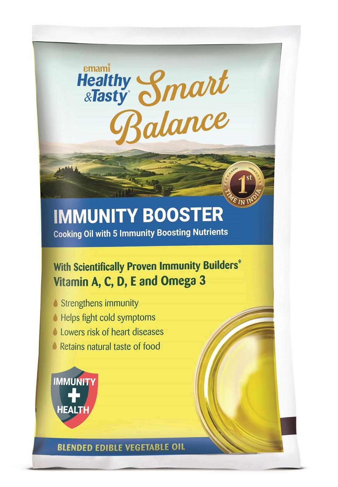 EMAMI SMART BALANCE OIL 1 LT(P)
