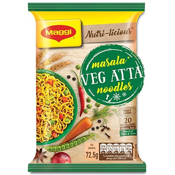 MAGGI NUTRI LICIOUS ATTA MASALA  72.5G
