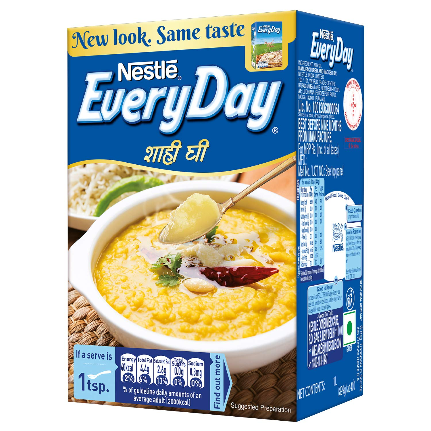 NESTLE EVERY DAY GHEE 1 KG PACK POUCH