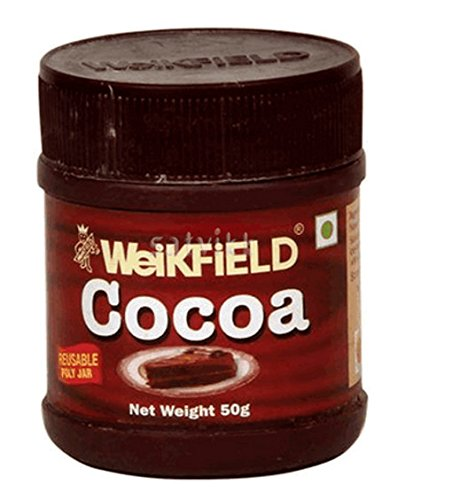 WEIKFIELD COCOA POWDER 50GM