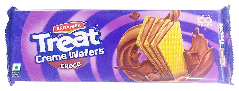 BRITANNIA TREAT WAFERS CHOCO 75G