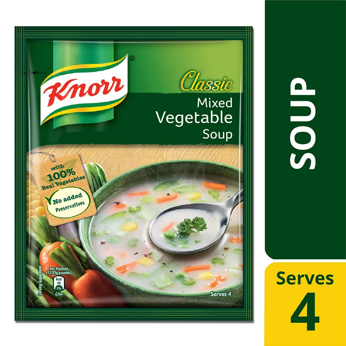 KNORR MIXED VEGETABLE 10/-