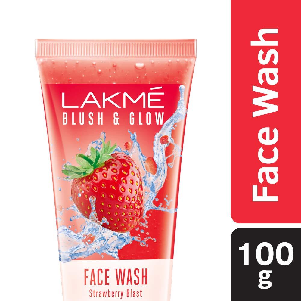 LAKME BLUSH & GLOW STRAWBERRY F/W 100GM