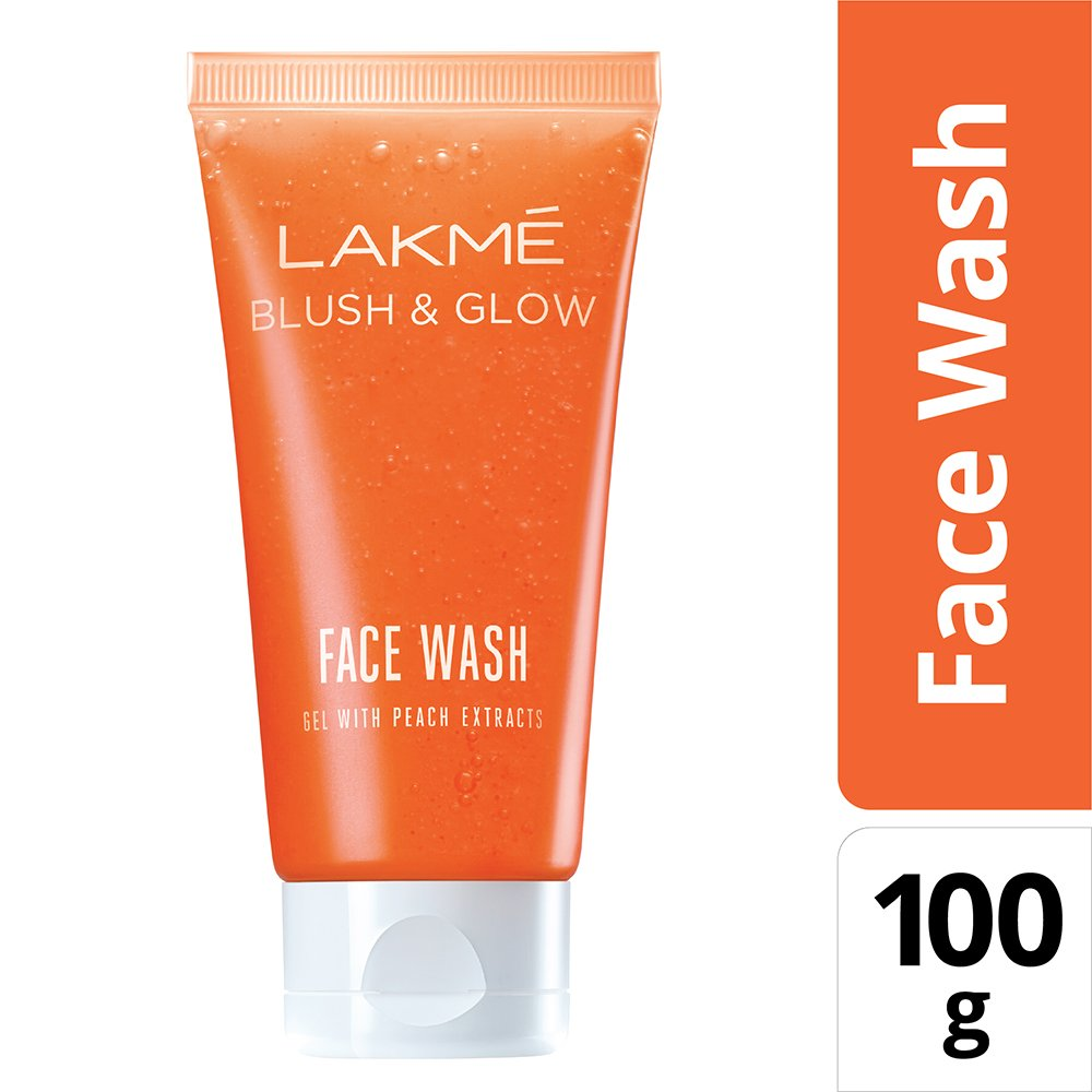 LAKME BLUSH ND GLOW F.W 100G PEACH