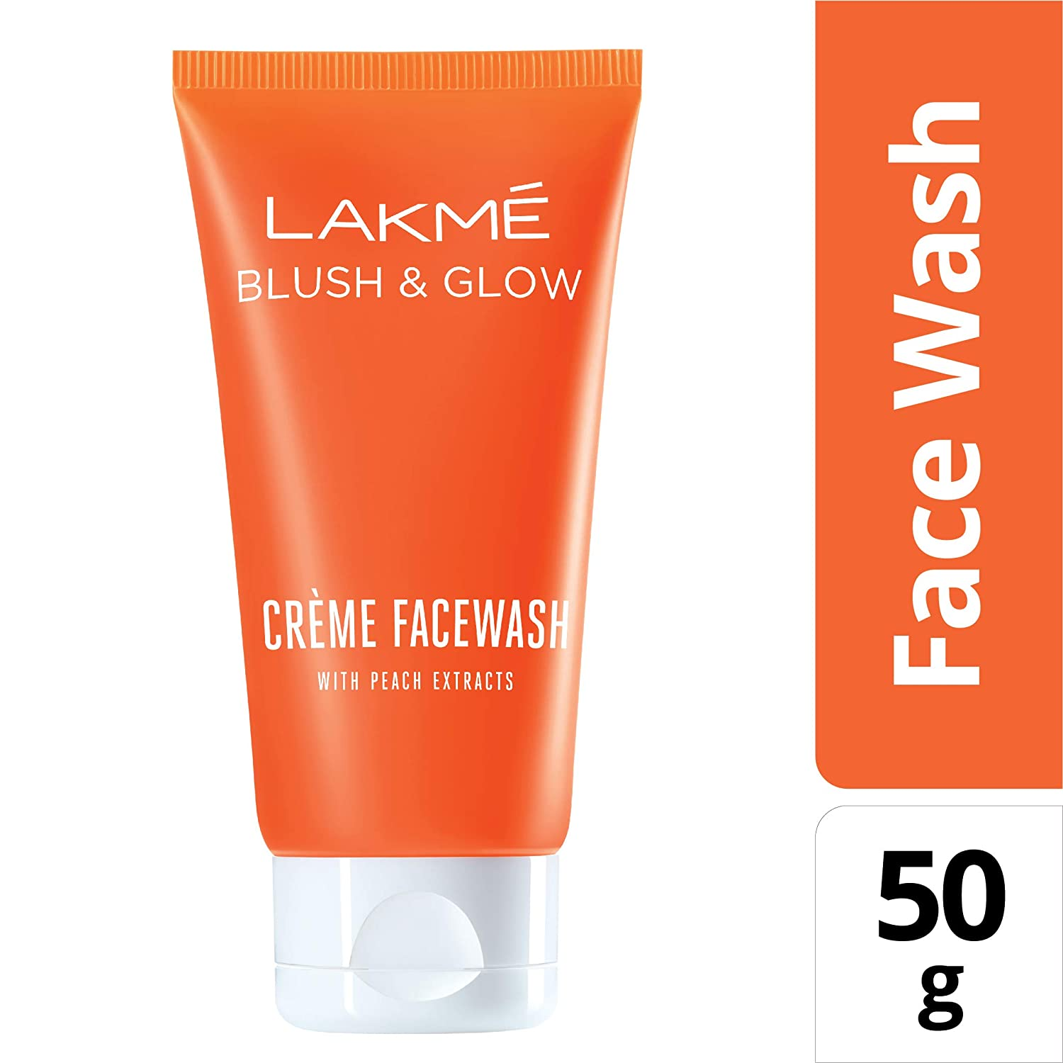 LAKME BLUSH ND GLOW GEL PEACH F.W 50G