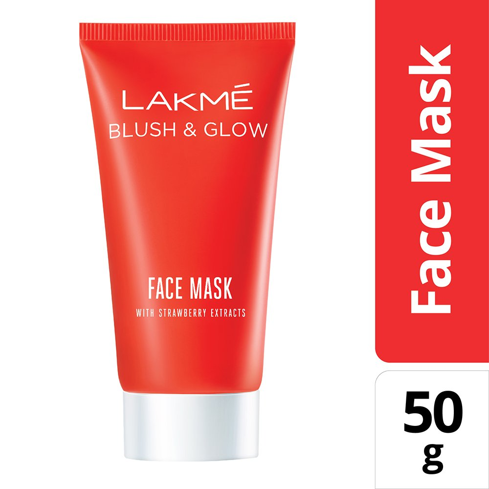 LAKME FACE MASK WITH STRAWBERRY 50GM