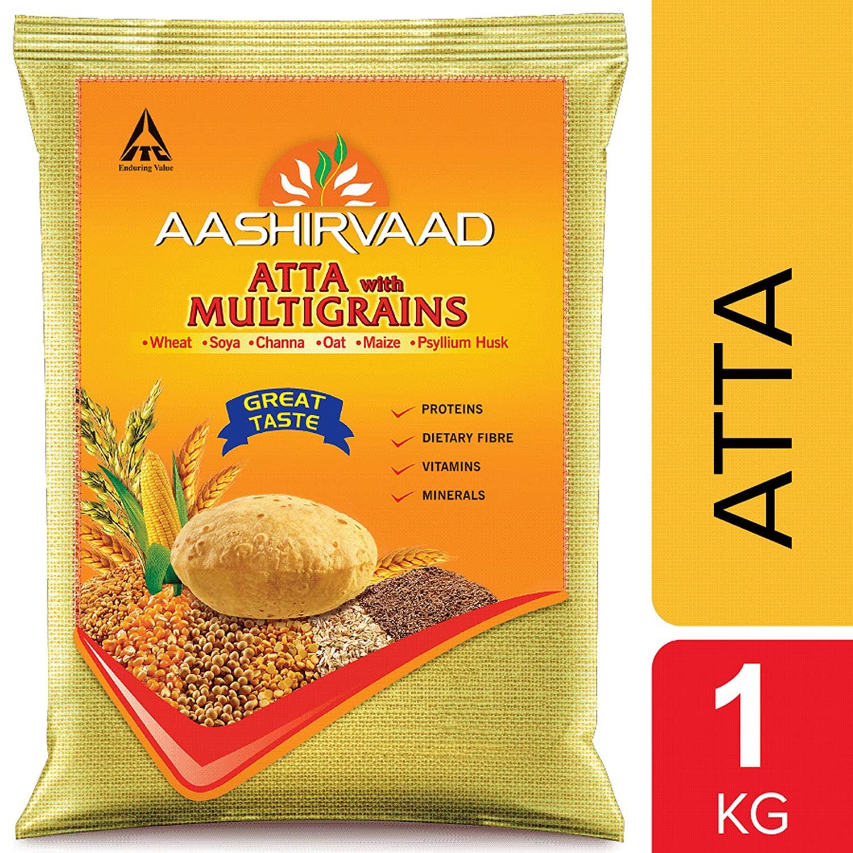 AASHIRVAAD ATTA WITH MULTIGRAINS 1 KG