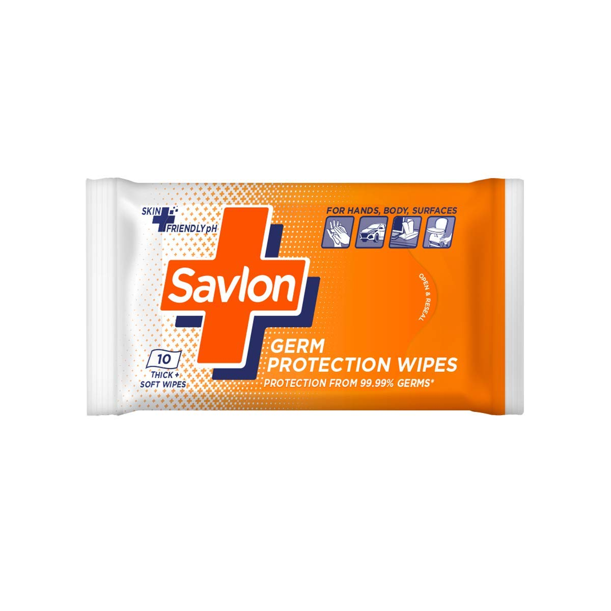 SAVLON GERM PROTECTION WIPES 45/-