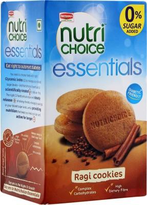 BRITANNIA NUTRI CHOICE RAGI COOKIES 150GM 65/-