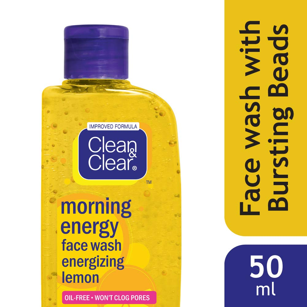 CLEAN & CLEAR FACE WASH (LEMON)