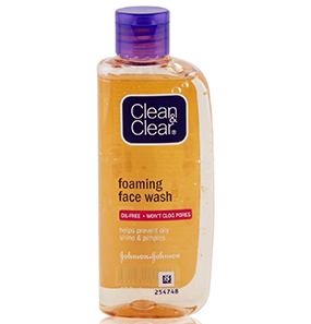 CLEAN & CLEAR FOAM FACE WASH