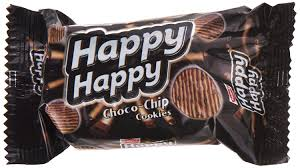 PARLE HAPPY HAPPY CHOCO CHIPS 60GM