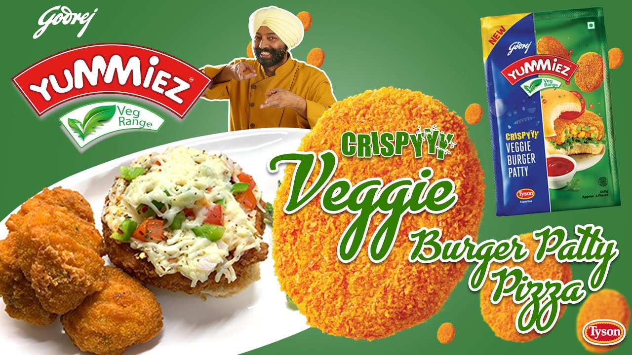 Crispy Veggie Burger Patty