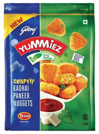 Crispy Kadhai Paneer Nuggets 175/-