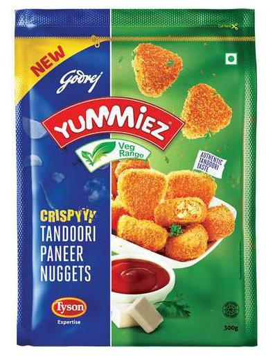 Crispy Tandoori Paneer Nuggets