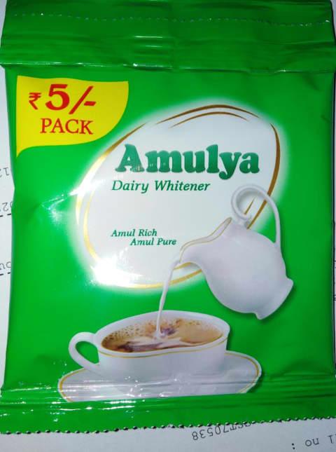 Amulya Dairy Whitener Milk Powder 12g (Rs 5/- Pack)