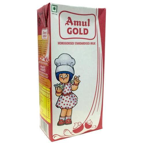 Amul Gold Standardised Milk TP