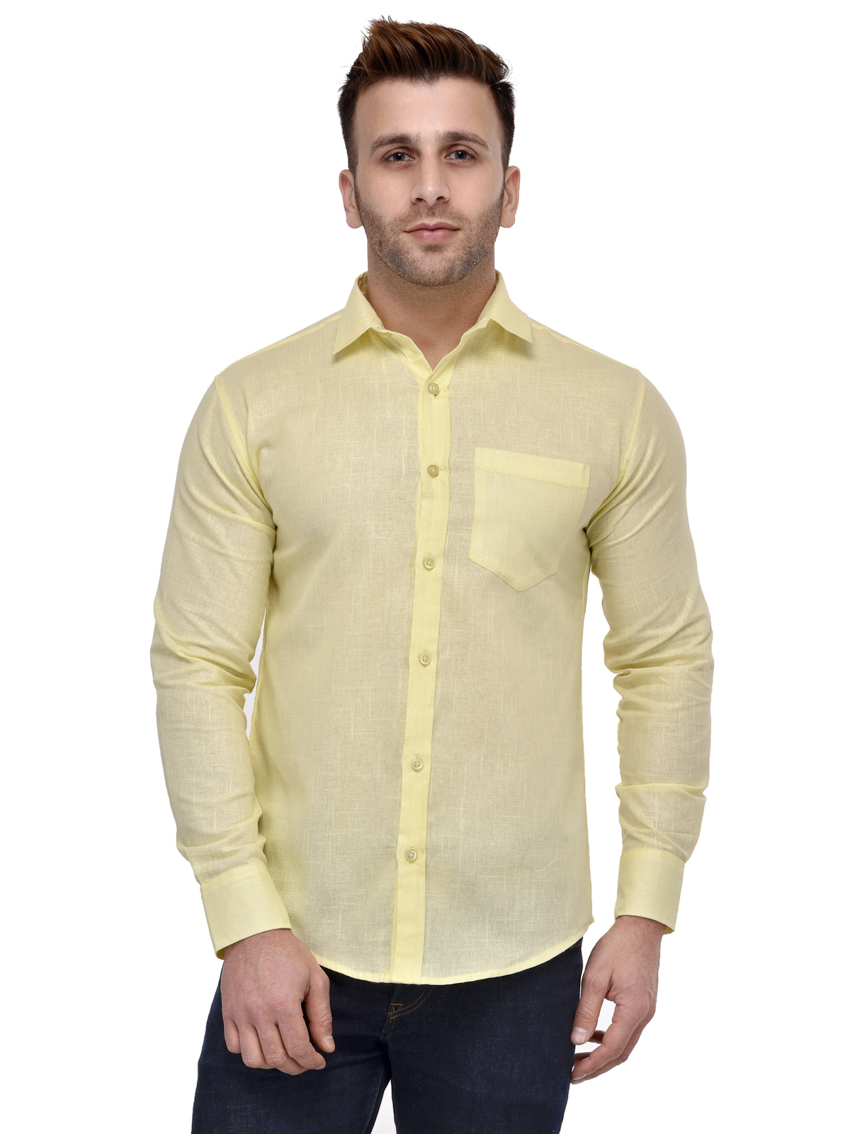 Hang UpCasual lm_Casual_Shirt_Yellow_38
