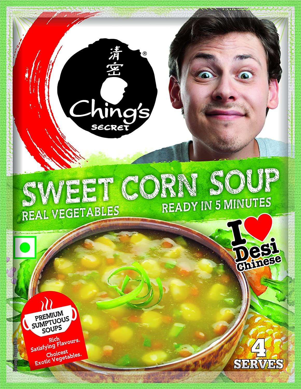 CHING'S SWEET CORN SOUP