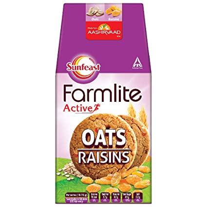 FARMLITE OATS RAISINS
