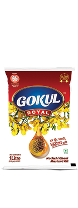 GOKUL ROYAL MUSTARD OIL (Pouch)