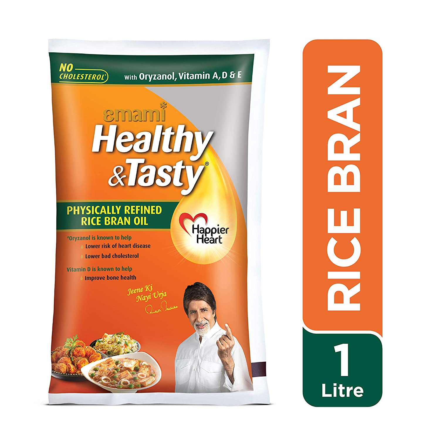 HEALTHY & TASTY RICE BRAN (Pouch)
